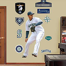 Fathead® MLB Seattle Mariners Felix Hernandez Home Wall Graphic
