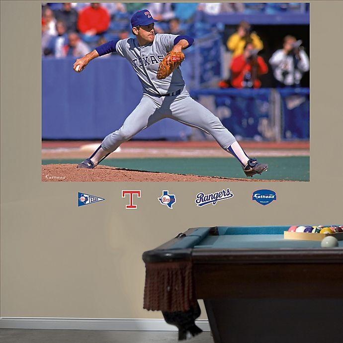Alternate image 1 for Fathead® MLB Texas Rangers Nolan Ryan Wall Graphic