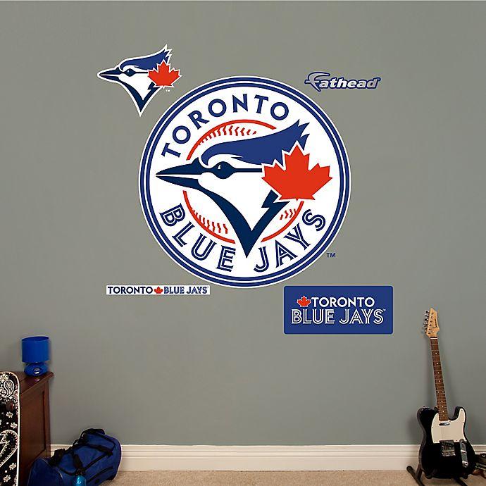 Alternate image 1 for Fathead® MLB Toronto Blue Jays Logo Wall Graphic