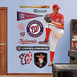 Fathead® MLB Washington Nationals Stephen Strasburg Alternate Wall Graphic