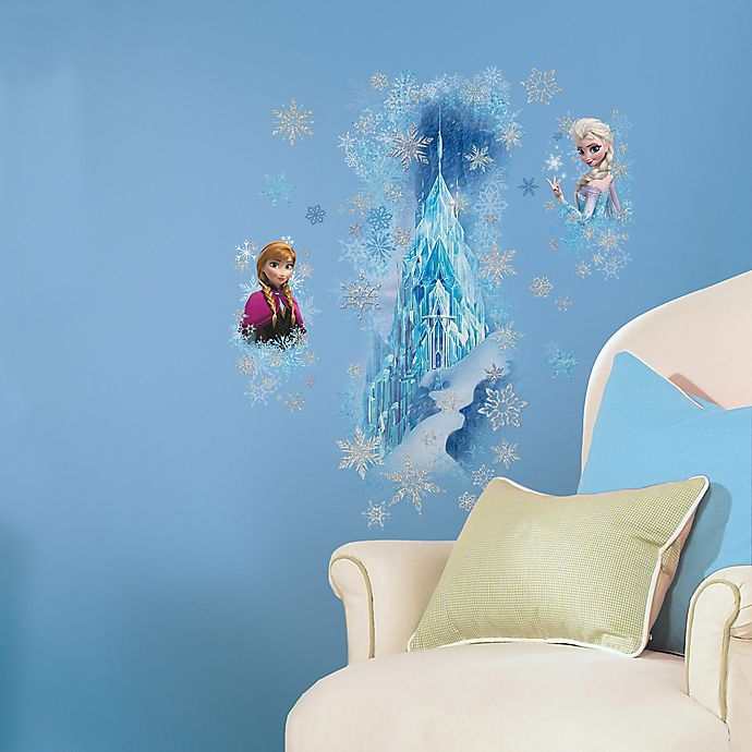 Alternate image 1 for RoomMates Disney® Frozen Ice Palace Peel and Stick Giant Wall Decals