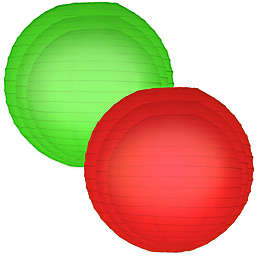 Round Paper Lantern (Set of 6)