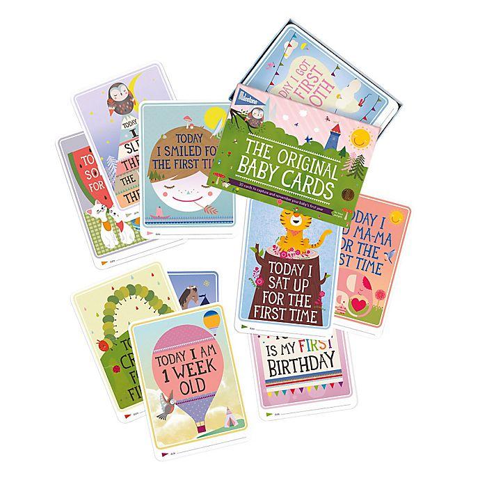 Alternate image 1 for Milestone™ Baby Cards Gift Set