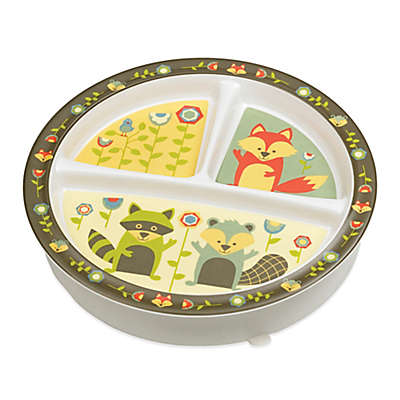 Sugarbooger® by o.r.e Divided Suction Plate in What Did the Fox Eat?