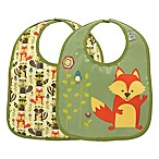 Sugarbooger® by o.r.e Mini Bib Gift Set in What Did the Fox Eat?