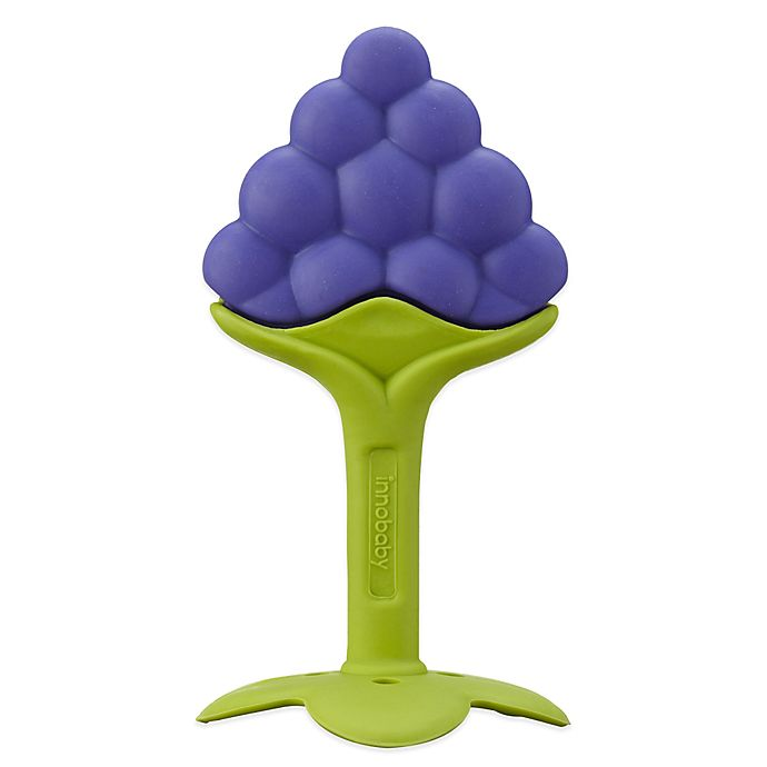 Alternate image 1 for Innobaby Teethin' Smart™ EZ Grip Grape Teether & Rattle