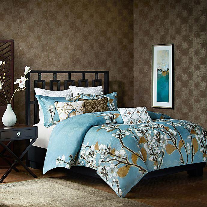 art in motion hanami comforter set bed bath and beyond. Black Bedroom Furniture Sets. Home Design Ideas