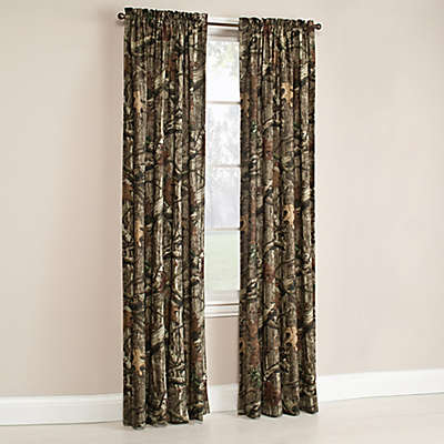 Mossy Oak® Break Up Infinity Window Curtain Panel and Valance