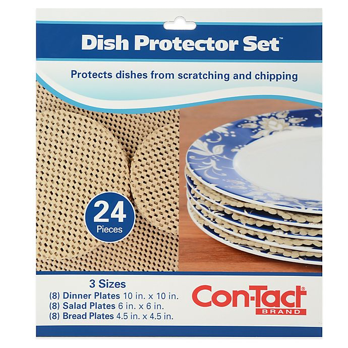 Alternate image 1 for 24-Piece Dish Protector Set