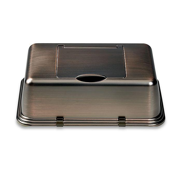 Alternate image 1 for Nice 'N Clean® Flushable Moist Wipes Dispenser Bracket in Oil-Rubbed Bronze