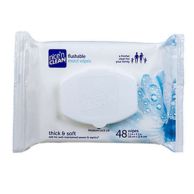Nice 'n Clean® 48-Count Flushable Moist Wipes Refill