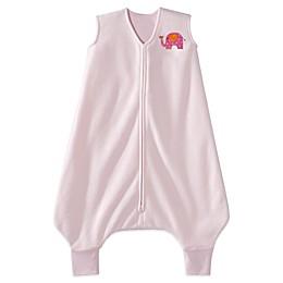 HALO® SleepSack® Size 2 - 3T Micro-Fleece Big Kids Wearable Blanket in Pink Elephant