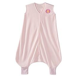 HALO® SleepSack® Lightweight Knit Early Walker Wearable Blanket in Pink Flower