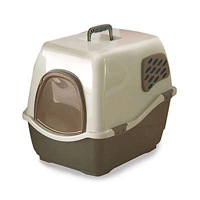 Marchioro Bill 1F Brown Deluxe Cat Litter Box