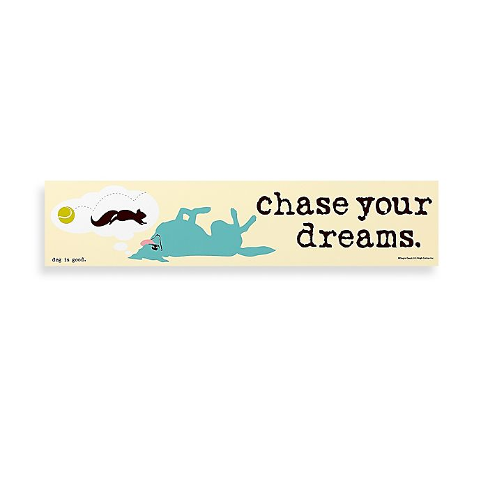Alternate image 1 for Chase Your Dreams Decorative Sign