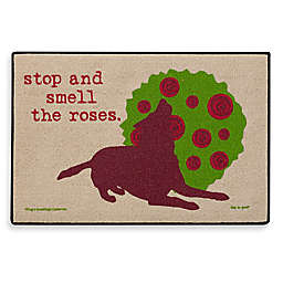 Stop and Smell the Roses Door Mat