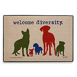 Welcome Diversity Door Mat