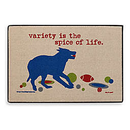 """Variety is the Spice of Life"" Door Mat"