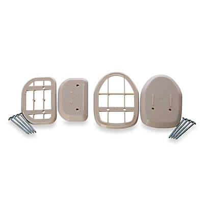 Bindaboo® Retractable Gate Spacers in White