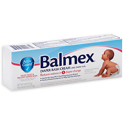Balmex® 4 oz. Zinc Oxide Diaper Rash Cream Tube
