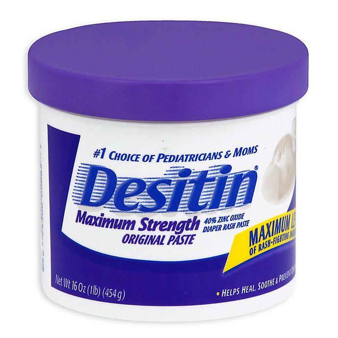 Alternate image 1 for Desitin® Diaper Rash Ointment - 16-Ounce Jar