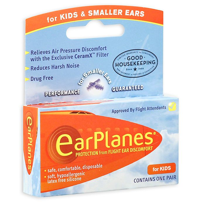 Alternate image 1 for EarPlanes® Flight Ear Protection Plugs For Children