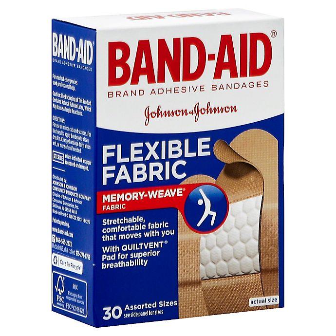 Alternate image 1 for Johnson & Johnson® 30-Count Band-Aid® Assorted Flex Fabric Bandages