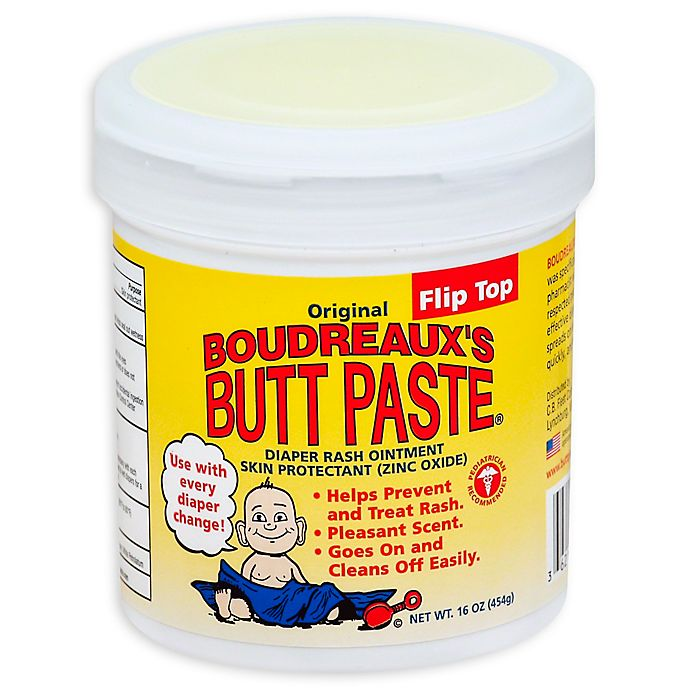 Alternate image 1 for Boudreaux's® 16 oz. Butt Paste Jar