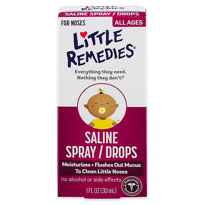 Alternate image 1 for Little Remedies® Little Noses® Saline Spray/Drops