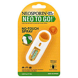 Neosporin® Neo To Go® .26 fl. oz. First Aid Antiseptic Pain Relieving Spray