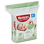 Huggies® Natural Care 184-Count Unscented Baby Wipes
