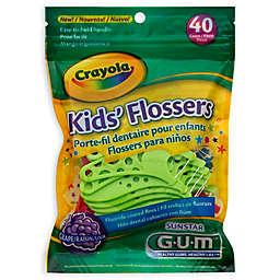GUM® Crayola™ 40-Count Kids' Flossers