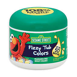 Sesame Street® Bath Collection 24-Count Fizzy Tub Colors Water Coloring Tablets