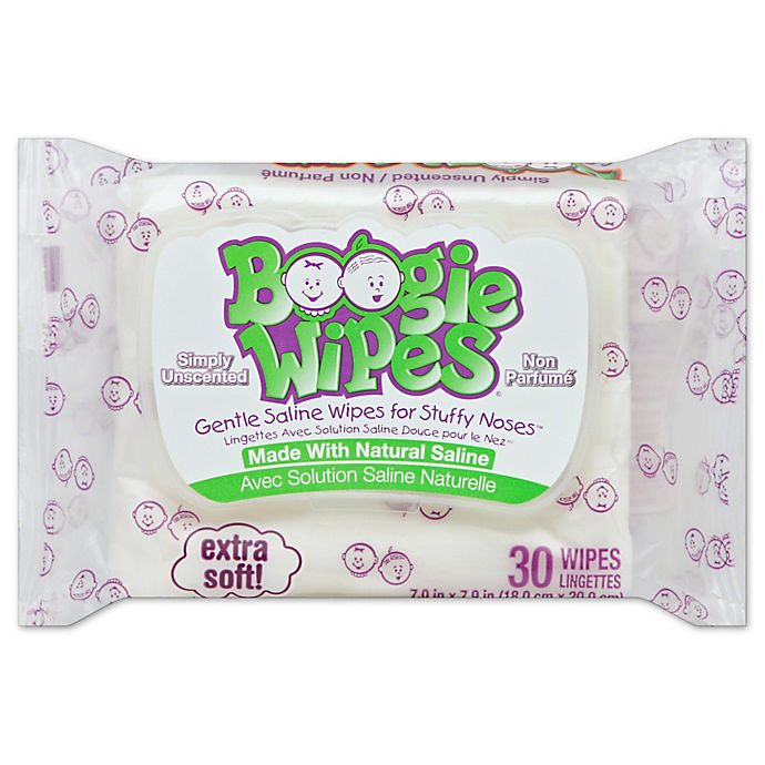 Alternate image 1 for Boogie Wipes® 30-Count Unscented Wipes