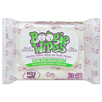Boogie Wipes® 30-Count Unscented Wipes