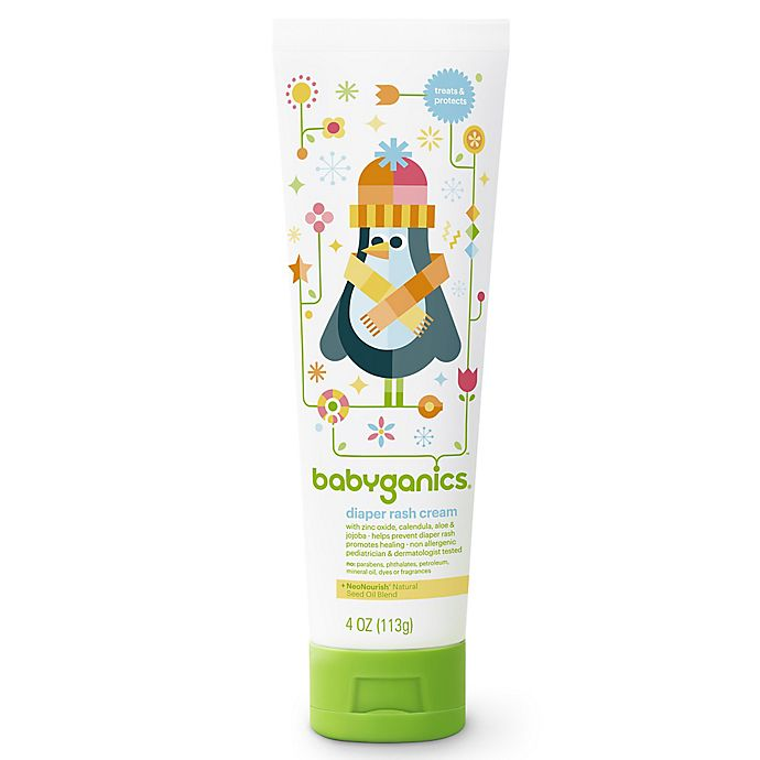 Alternate image 1 for Babyganics® 4 oz. Diaper Rash Cream