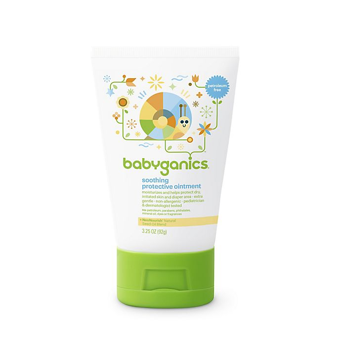 Alternate image 1 for Babyganics® 3.25 oz. Soothing Protective Ointment