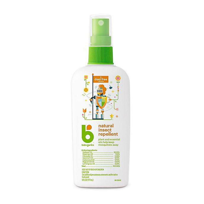 Alternate image 1 for Babyganics® 6 oz. Natural Insect Repellent