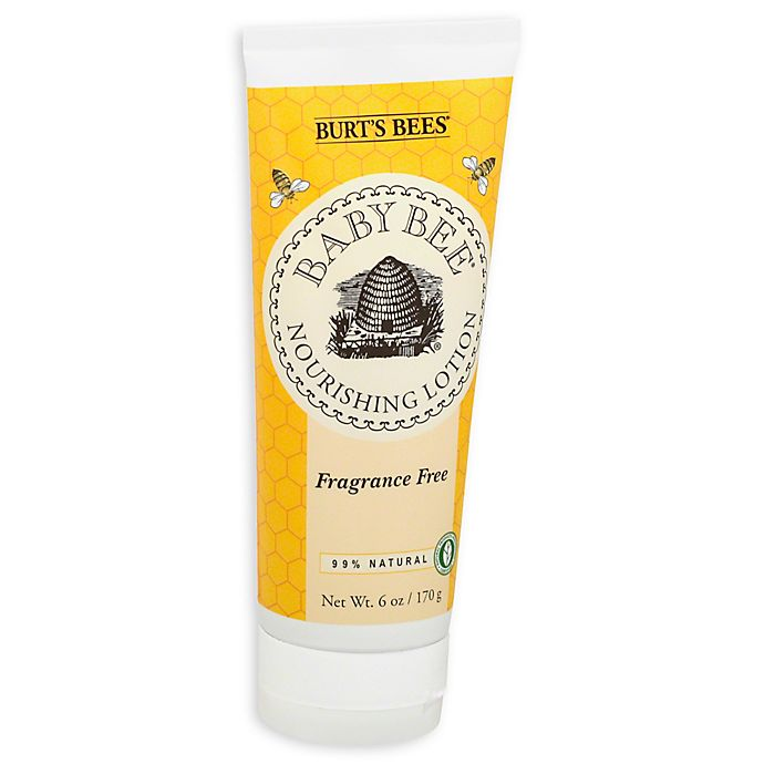 Alternate image 1 for Burt's Bees® Baby Bee® Fragrance-Free 6 oz. Baby Lotion