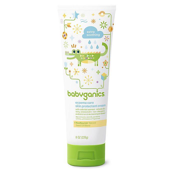 Alternate image 1 for Babyganics® 8 oz. Eczema Care Skin Protectant Cream