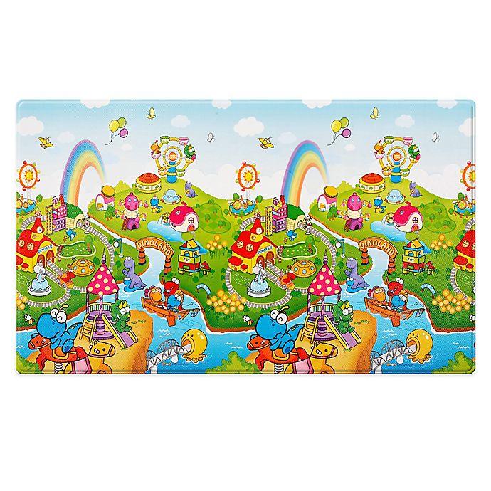 Alternate image 1 for Dwinguler Large Kid's Playmat in Dinoland