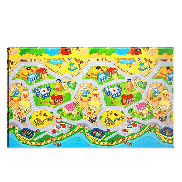 Alternate image 1 for Dwinguler Large Kid's Playmat in Mytown