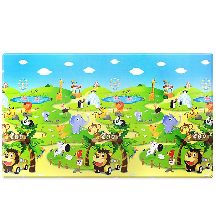 Alternate image 1 for Dwinguler Large Kid's Playmat in Zoo