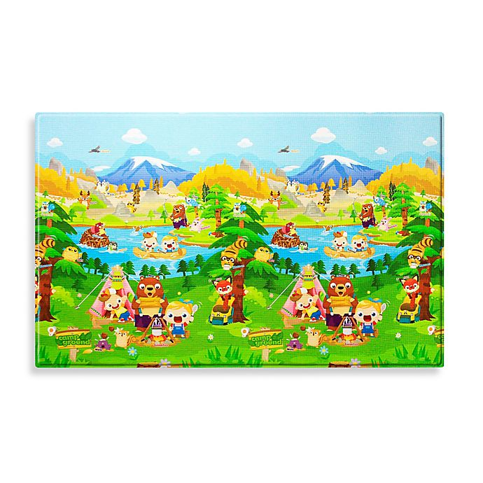 Alternate image 1 for BABY CARE™ Large Baby Play Mat in Let's Go Camping