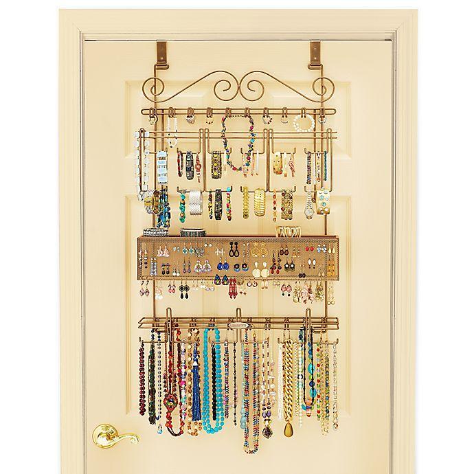 Over The Door Jewelry Organizer In