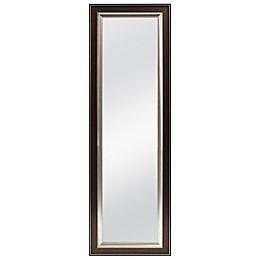 Better 53.5-Inch x 17.5-Inch Over-the-Door Mirror in Bronze Bead