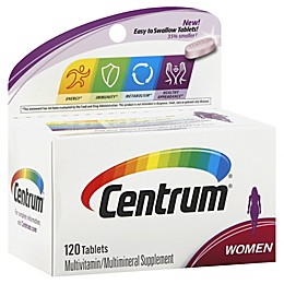 Centrum® Ultra 120-Count Multivitamin and Multimineral Supplement Tablets for Women