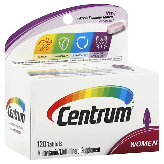 Centrum Ultra 120 Count Multivitamin And Multimineral Supplement Tablets For Women Bed Bath Beyond