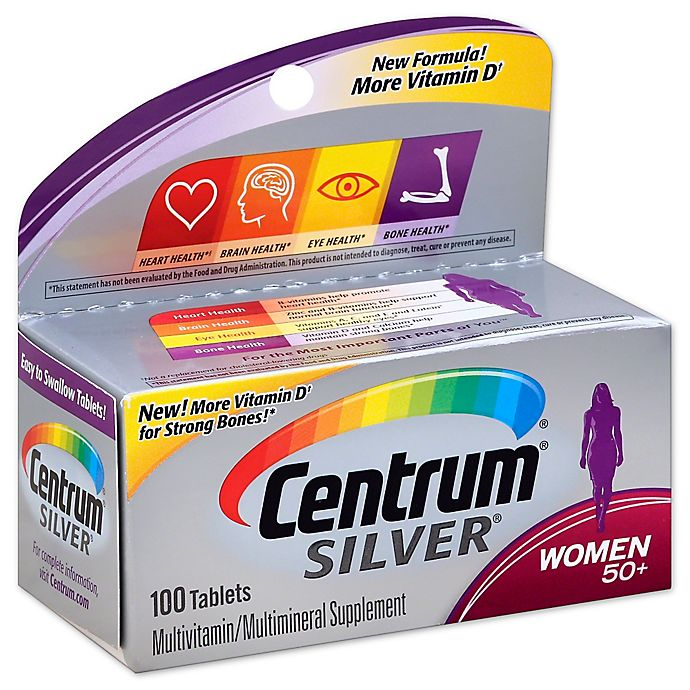 Alternate image 1 for Centrum Silver 100-Count Women's Multivitamins