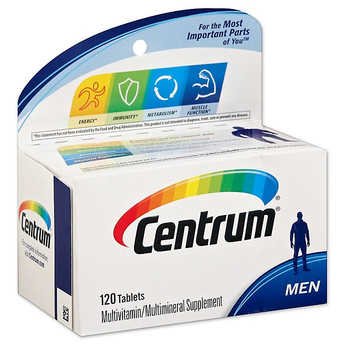 Alternate image 1 for Centrum® Ultra 120-Count Multivitamin and Multimineral Supplement Tablets for Men